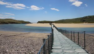 Barleycove Beach floating bridge, West Cork