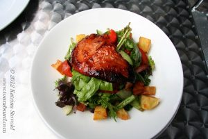 Teriyaki salmon at Fresco Bistro, Cork, Ireland