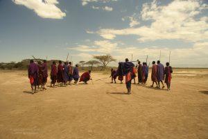 Maasai dance, Tanzania.