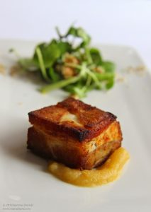Crispy Pork Belly, Nottingham, UK